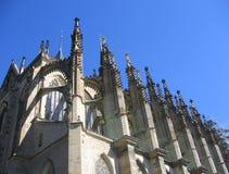 De Kathedraal van Kutna Hora van de Tsjechische Republiek Stock Foto