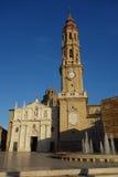 De kathedraal van La Seo van Saragossa Royalty-vrije Stock Afbeelding