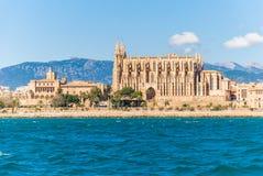 De kathedraal van La Seu, Palma de Mallorca Royalty-vrije Stock Foto's