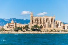 De kathedraal van La Seu, Palma de Mallorca Royalty-vrije Stock Foto