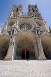 De kathedraal van Laon royalty-vrije stock afbeeldingen