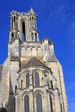 De Kathedraal van Laon, Frankrijk Royalty-vrije Stock Afbeeldingen