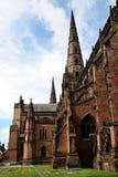 De Kathedraal van Lichfield Stock Foto