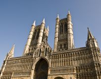 De Kathedraal van Lincoln Royalty-vrije Stock Foto's