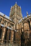 De Kathedraal van Lincoln Stock Foto's