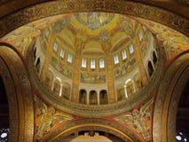 De Kathedraal van Lisieux Stock Afbeelding