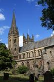 De Kathedraal van Llandaf, Wales stock afbeeldingen