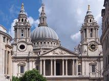 De Kathedraal van Londen, St. Paul stock afbeelding