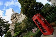 De kathedraal van Londen, St Pauls Stock Foto's