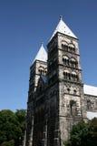De Kathedraal van Lund Royalty-vrije Stock Foto's