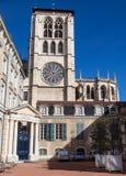 De Kathedraal van Lyon Stock Fotografie