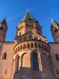 De Kathedraal van Mainz royalty-vrije stock foto's
