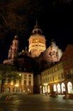 De Kathedraal van Mainz Stock Afbeeldingen