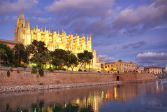 De Kathedraal van Majorca Royalty-vrije Stock Afbeeldingen