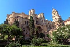 De Kathedraal van Malaga Stock Fotografie
