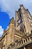 De kathedraal van Manchester van onderaan Royalty-vrije Stock Foto