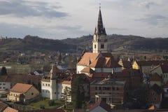 De kathedraal van Marijabisrica royalty-vrije stock afbeeldingen