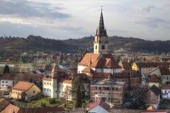 De kathedraal van Marijabisrica Stock Foto's