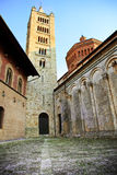 De Kathedraal van Marittima van Massa. Toscanië, Italië. Royalty-vrije Stock Fotografie