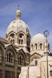 De Kathedraal van Marseille Royalty-vrije Stock Foto's