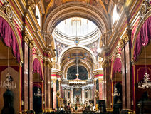 De Kathedraal van Mdina Stock Foto