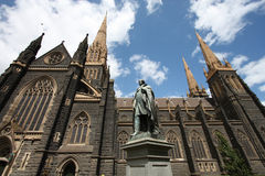 De kathedraal van Melbourne royalty-vrije stock foto's