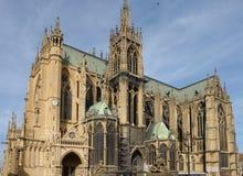 De Kathedraal van Metz royalty-vrije stock fotografie