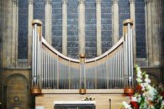 De Kathedraal van Metz Saint-Etienne Stock Fotografie