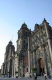 De Kathedraal van Mexico-City Stock Afbeelding