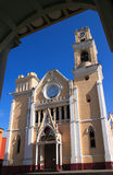 De Kathedraal van Mexico Veracruz Xalapa Royalty-vrije Stock Afbeelding