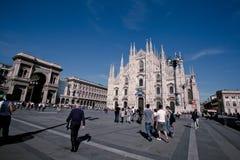 De Kathedraal van Milaan Royalty-vrije Stock Fotografie