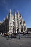 De Kathedraal van Milaan Royalty-vrije Stock Foto