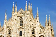 De Kathedraal van Milaan Stock Foto