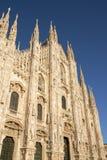 De Kathedraal van Milaan in de recente middag royalty-vrije stock afbeelding