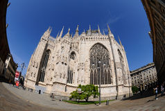 De Kathedraal van Milaan - Duomo Di Milaan Stock Afbeelding