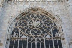 De kathedraal van Milaan, Koepel, Duomo Royalty-vrije Stock Foto's