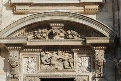 De kathedraal van Milaan, Koepel, Duomo Stock Fotografie