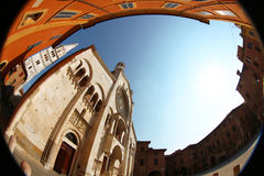 de kathedraal van Modena Royalty-vrije Stock Afbeeldingen