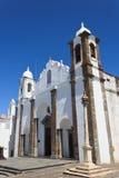 De Kathedraal van Monsaraz Stock Foto's