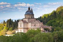 De Kathedraal van Montepulciano royalty-vrije stock afbeeldingen