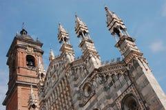 De Kathedraal van Monza Royalty-vrije Stock Foto's