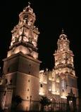 De kathedraal van Morelia Stock Foto's