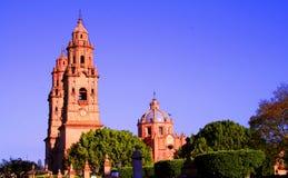 De kathedraal van Morelia Stock Foto