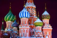 De kathedraal van Moskou stock afbeelding