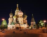 De kathedraal van Moskou Stock Foto