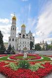 De kathedraal van Moskou in het Kremlin Royalty-vrije Stock Foto