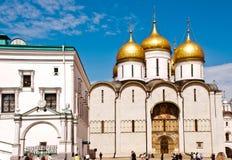 De Kathedraal van Moskou het Kremlin van de Veronderstelling Stock Afbeelding