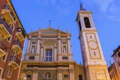 De Kathedraal van Nice in Frankrijk Royalty-vrije Stock Foto