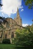 De Kathedraal van Norwich Stock Foto