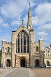De Kathedraal van Norwich Royalty-vrije Stock Foto's
